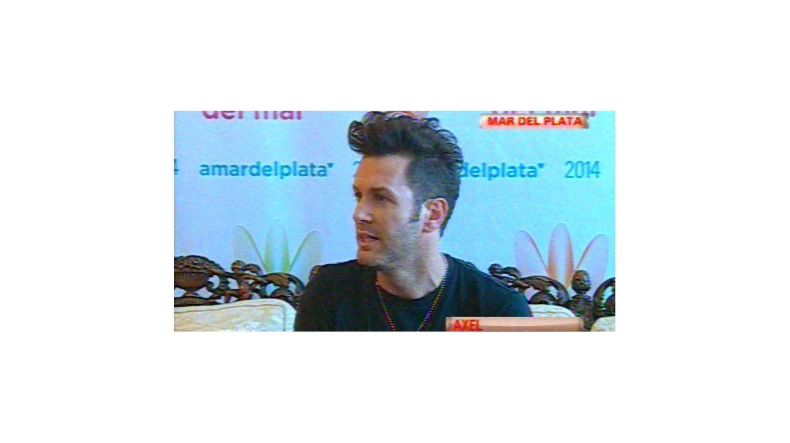 Axel habló de la internación de su hija: No va a tener secuelas