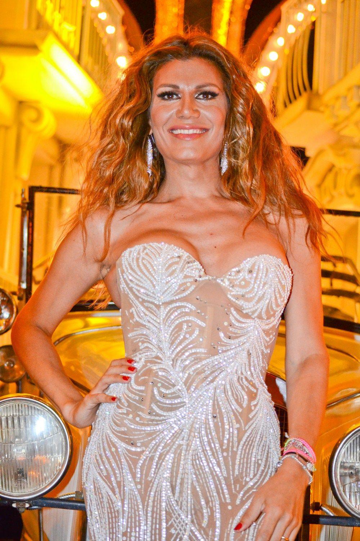 Flor de la V fue la invitada de honor del Carnaval de Gualeguaychú