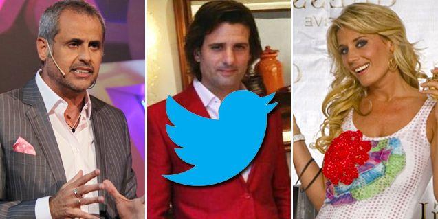 Llueve sobre mojado: los famosos y sus tweets por la tormenta