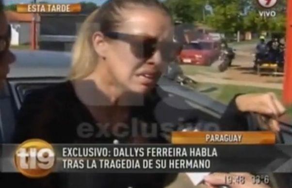 El dolor de Dallys Ferreira en el último adiós a su hermano: Ya no me queda nada