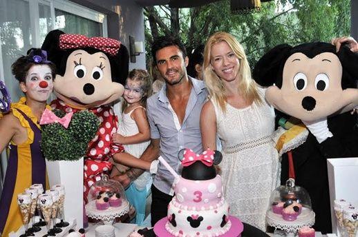 La intimidad del cumpleaños de la hija de Nicole Neumann y Fabián Cubero