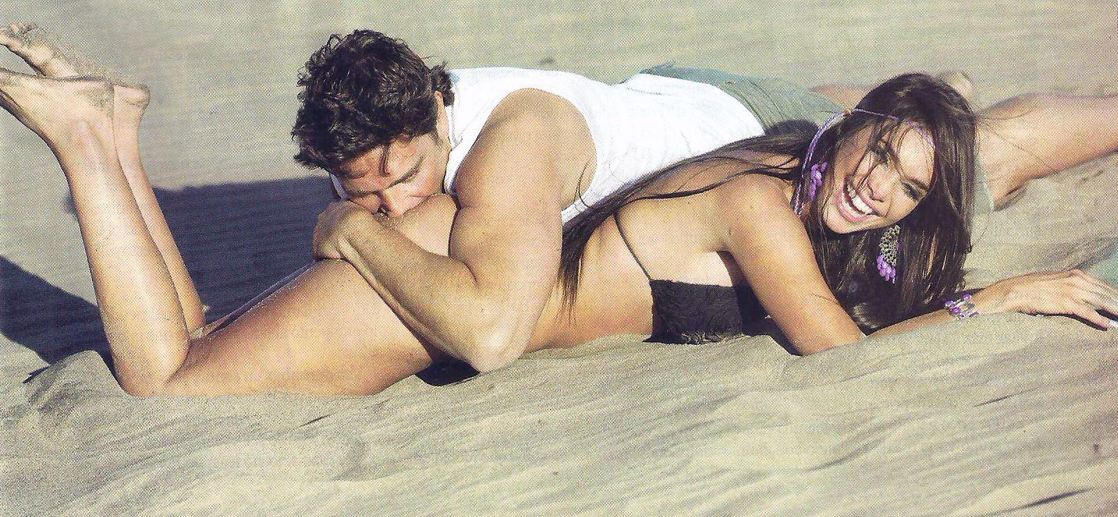 Matías Alé le come la cola a Sabrina Ravelli