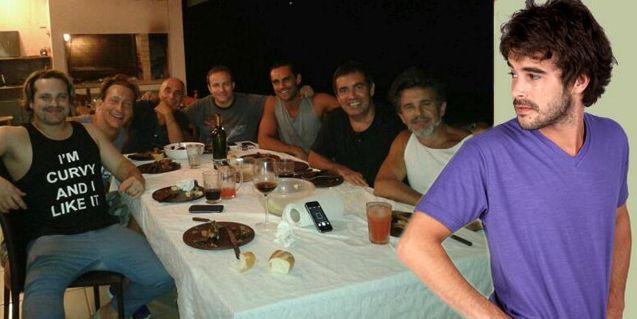 Mis amigos de siempre: el elenco masculino se juntó a comer un asado; ¿Y Cabré?