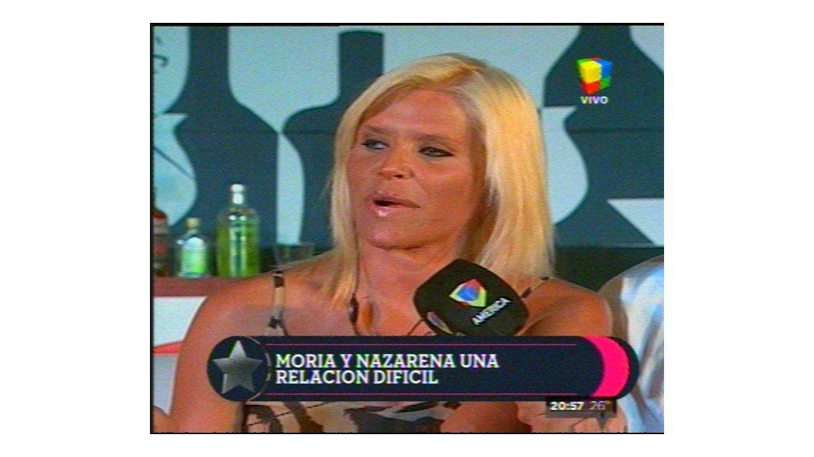 Nazarena Vélez, dolida con Moria Casán: No da que esta soreta lastime a mi familia