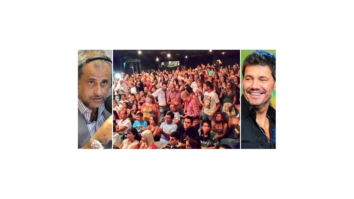 Rial y Tinelli se meten en la competencia de Villa Carlos Paz por Twitter