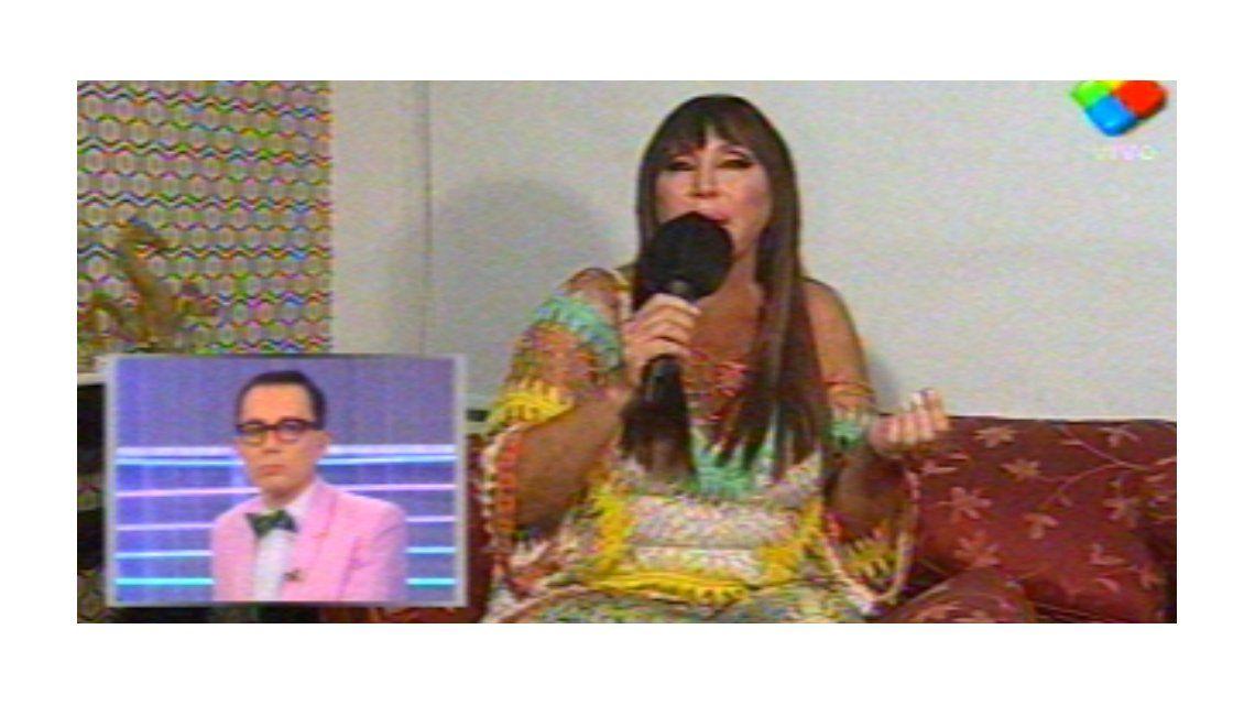 Moria Casán le contestó a Nazarena Vélez: Es un mono cagado a escobazos