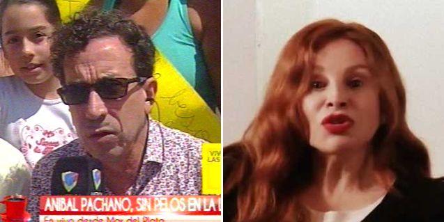 Pachano contra Nacha Guevara: La boludez hay que dejarla aparte