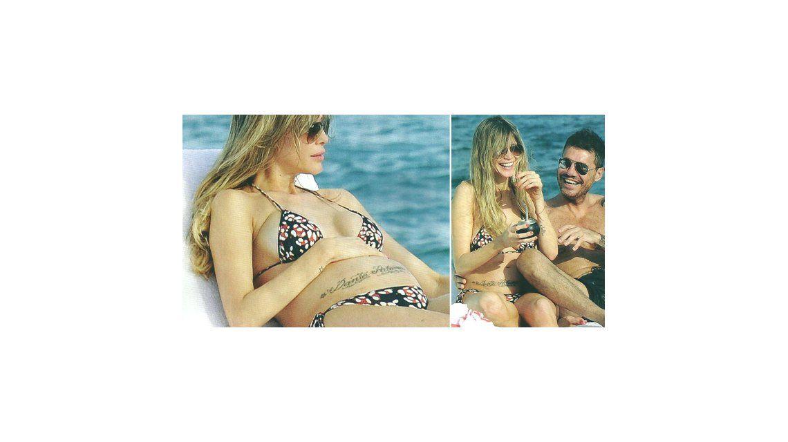 Las exóticas vacaciones de Marcelo Tinelli y Guillermina Valdes antes de ser papás