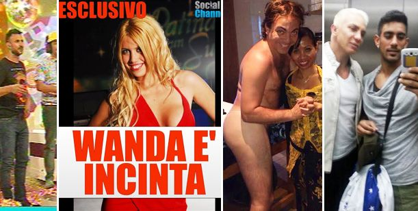 Wanda embarazada; primer escándalo sentimental y Cristian Castro en tanga