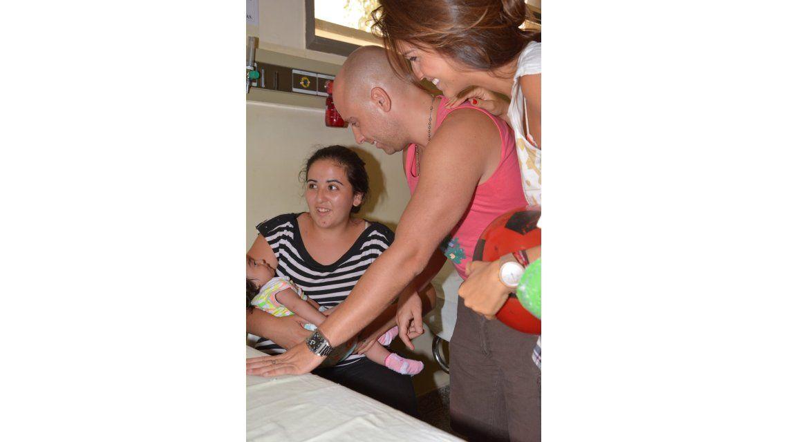 El día de Reyes de Los Locos Grimaldi en el Hospital de Niños de Córdoba
