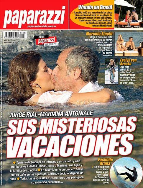 Jorge Rial y Loly Antoniale: misteriosa luna de miel en un crucero por el Caribe