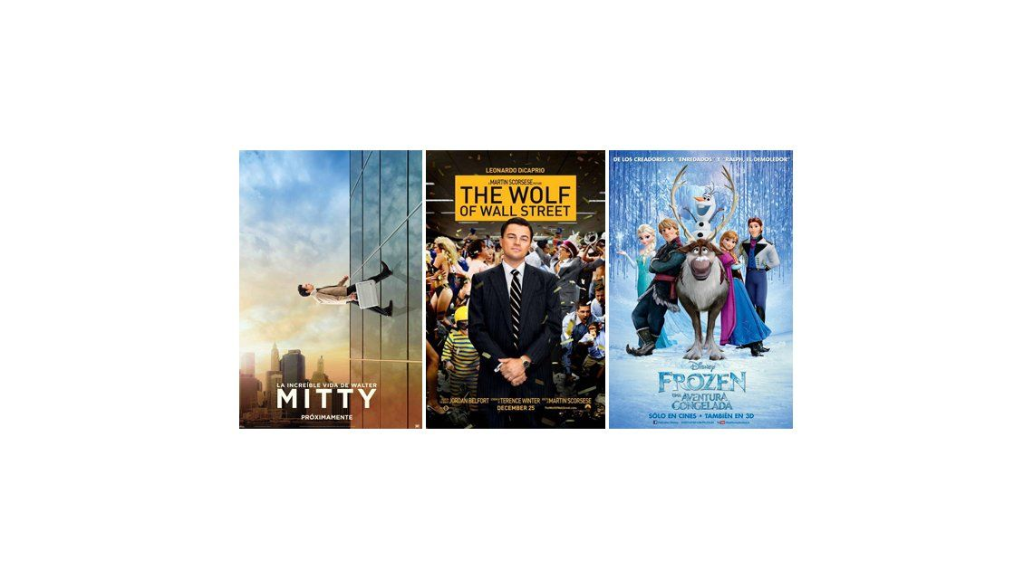 Los primeros estrenos del año: llegan Frozen y la nueva de Leonardo Di Caprio