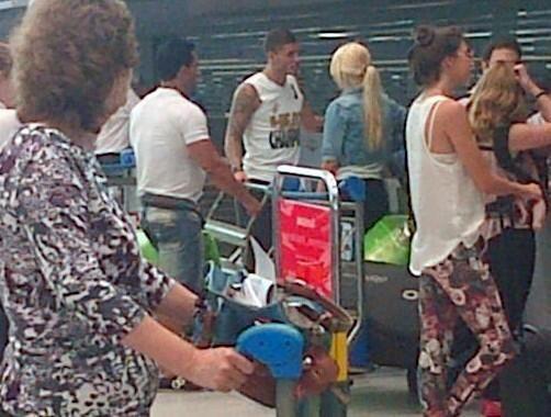 Wanda Nara y Mauro Icardi se fueron a su nuevo nido de amor en Milán