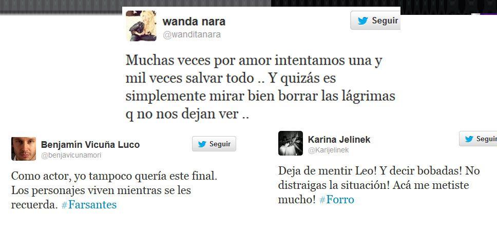 Los tweets del año: Wanda Nara, Karina Jelinek y Benjamín Vicuña
