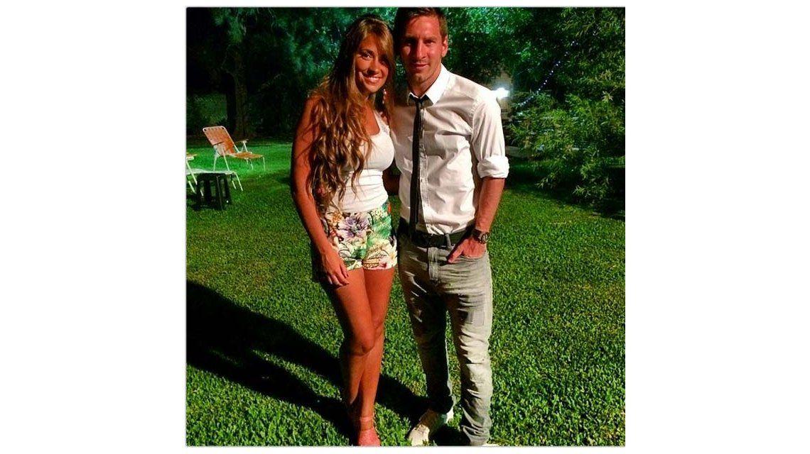 En familia: las vacaciones de Lionel Messi y Antonella Roccuzzo en Rosario