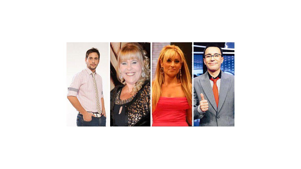 Marcela Tauro, Laura Ubfal y Rodrigo Lussich, el jurado de Viviendo con las estrellas