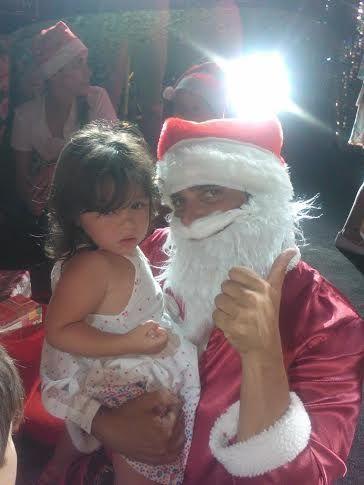 Fotos: la Navidad hot de Matías Alé y Sabrina Ravelli en Mar del Plata