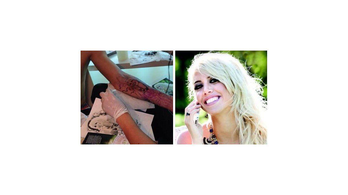 ¡No se cansa! El nuevo tatuaje de Mauro Icardi: la cara de Wanda Nara