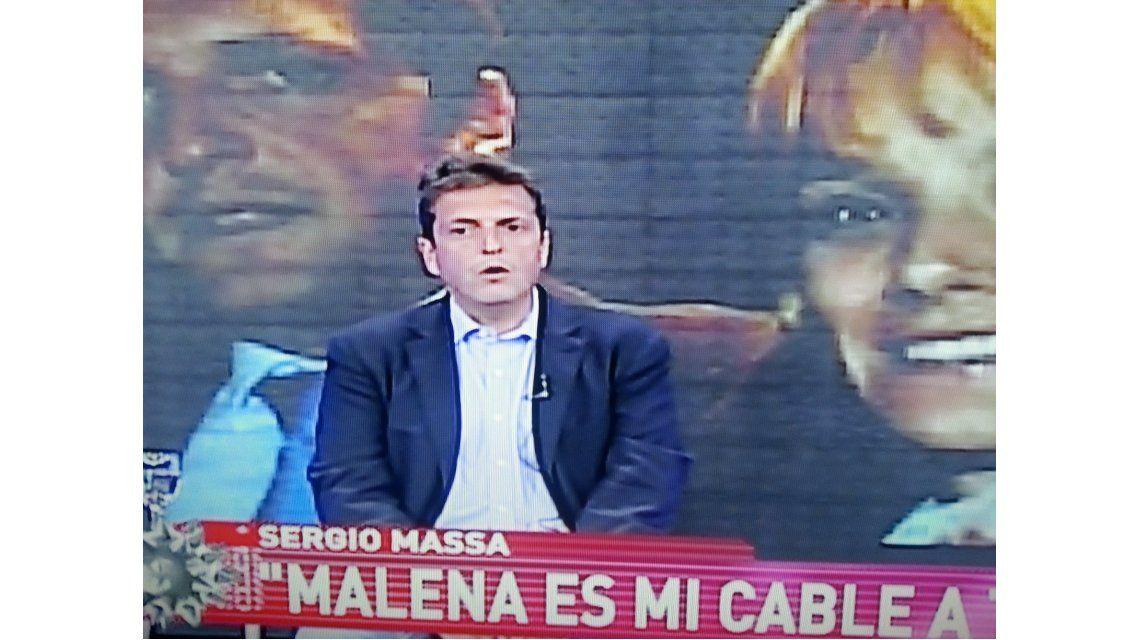 Sergio Massa, en Intratables: Entre Marcelo Tinelli y Lanata, me quedo con Lanata