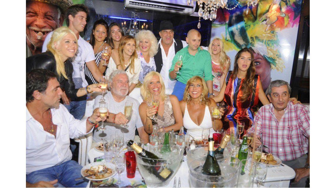 Con la visita de Wanda, se estrenó Los locos Grimaldi