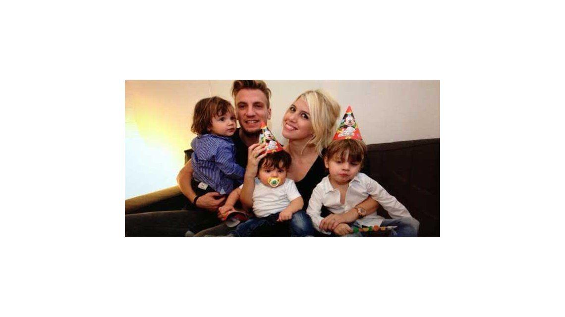 Maxi López llega el lunes y dicen que peleará la tenencia de sus hijos con Wanda