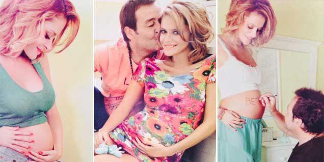 Vanina Escudero y Waldo, súper embarazados, esperan a Benicio