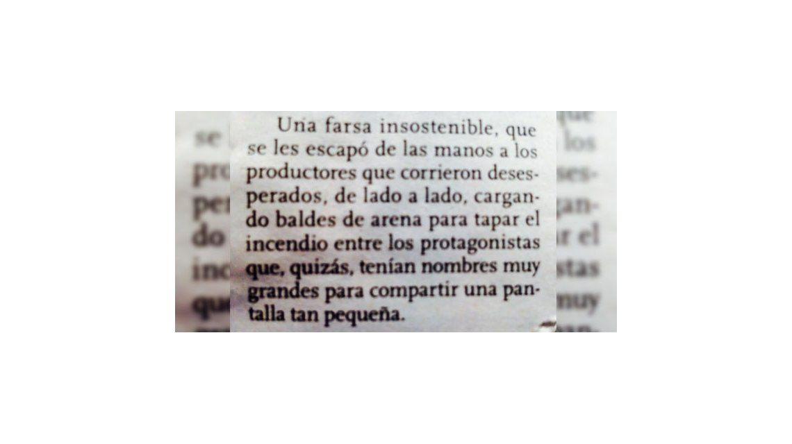 Farsantes: la respuesta de Facundo Arana y la dura nota de Clarín contra la ficción