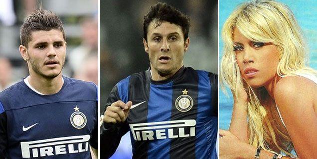 El nuevo novio de Wanda Nara, con más problemas en el Inter: lo quieren echar