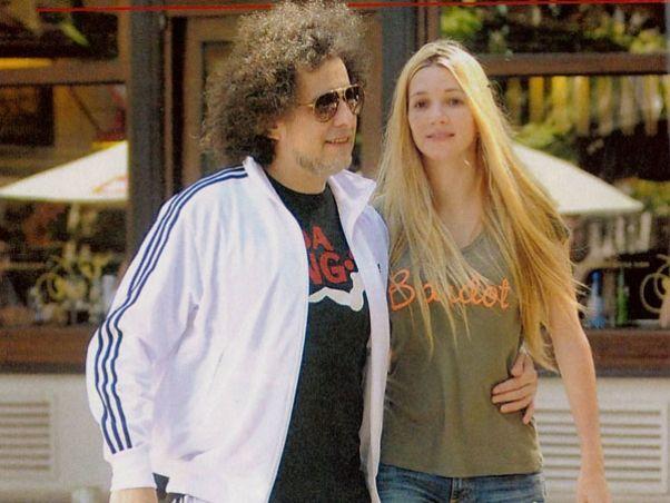 Andrés Calamaro y Micaela Breque con planes de casamiento para el 2014