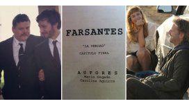Llega el final de Farsantes: Siciliani adelantó el último capítulo y subió fotos
