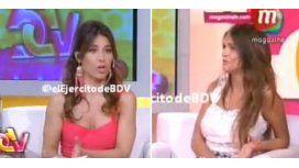 Tensión en vivo entre Zaira Nara y Mariana Brey: ¿Tu papá caga a tu mamá?