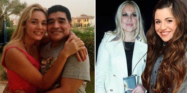 Nuevo escándalo con los Maradona: Rocío, celosa de Benjamín y del hijo de Ojeda