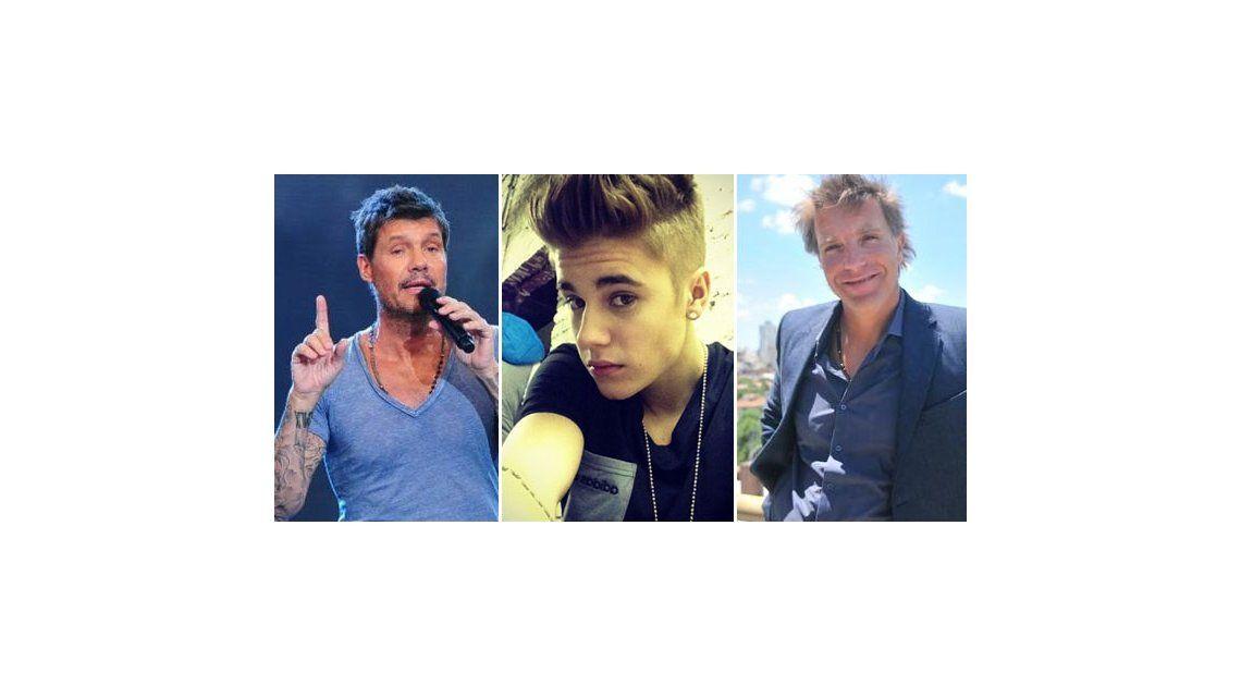 La insólita guerra de Marcelo Tinelli y Alejandro Fantino contra Justin Bieber