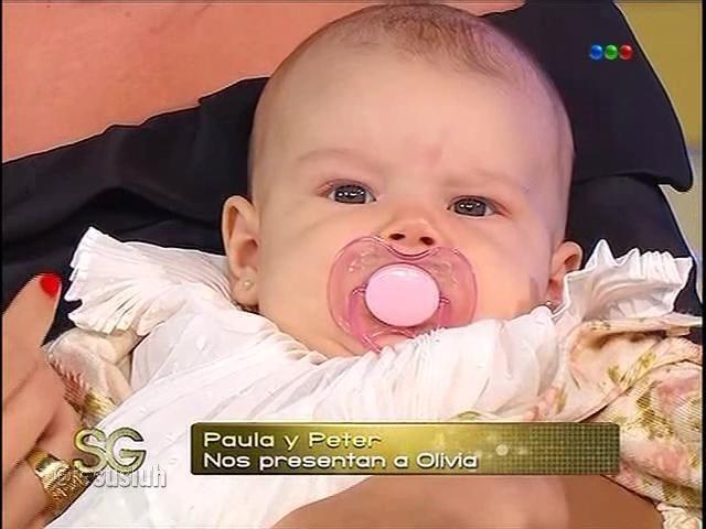 Paula Chaves sobre el nacimiento de Olivia: Parí maquillada