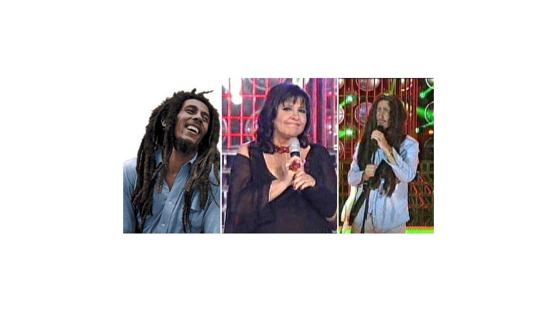 La noche que Vernaci condujo Tu cara me suena y Marley fue Bob Marley