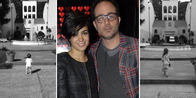 Familia de actores: Agustina Cherri llevó a sus hijos a Mis amigos de siempre