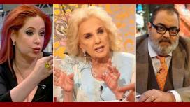 Mirtha sin freno: palos a Lanata, Andrea del Boca incómoda, mal por los Tato