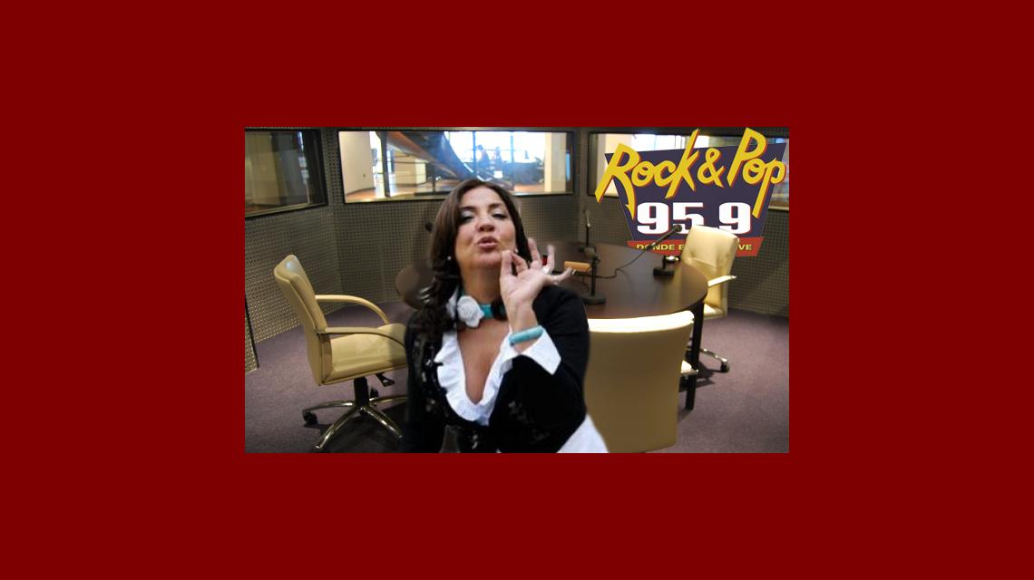 La Negra Vernaci furiosa con la Rock and Pop, quiere irse: Que se dejen de joder