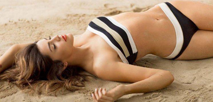 La impactante producción de fotos de Calu Rivero en bikini en la previa al verano