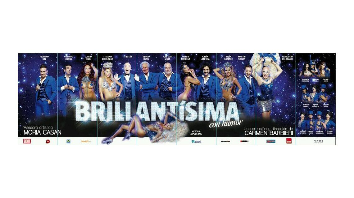 Se suspendió el estreno de Brillantísima en Mar del Plata