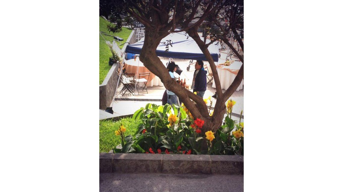 El álbum de fotos y el diario de viaje de Lali Espósito en Perú, donde filmó una película