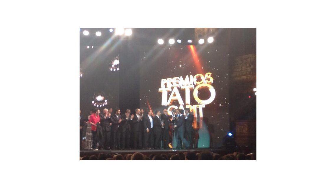 El Premio Tato 2013 fue para Periodismo para Todos; los ganadores de la noche