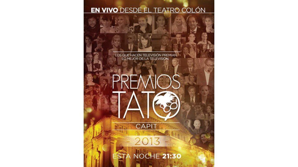 Los ratings de la transmisión de los Premios TATO 2013: 13.4