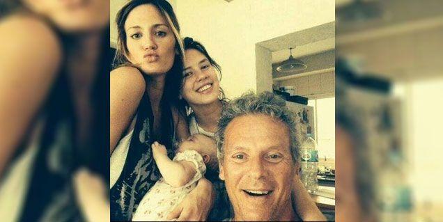 La intimidad de Paula Chaves con su hija Olivia, su hermana y su papá