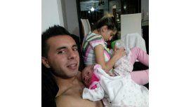 Desde Dubai, Matías Defederico saludó a sus hijas: Es muy duro estar sin ustedes