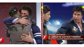 El reencuentro de Gustavo Martínez y Rodrigo Díaz, tras la muerte de Fort