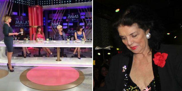 Escándalo entre Marta Fort y Carmen Barbieri en Malas Muchachas