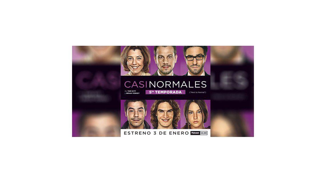 Éxito teatral: Casi normales va por su quinta temporada
