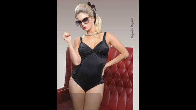 La sensual producción  de fotos de Alejandra Maglietti