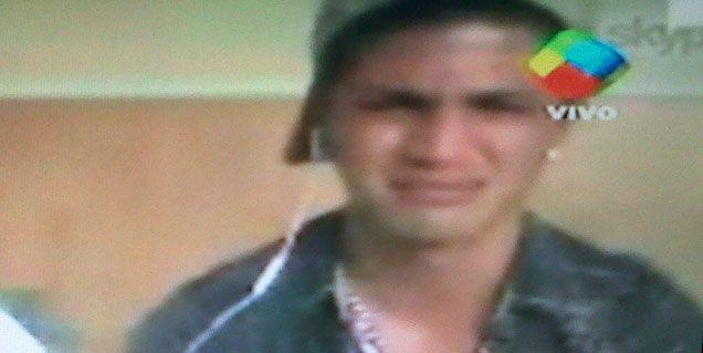 El desgarrador llanto de Rodrigo Díaz, novio de Ricardo Fort: Me estoy muriendo de dolor
